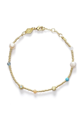 ANNI LU, Fruit D'or Bracelet, Pool blue