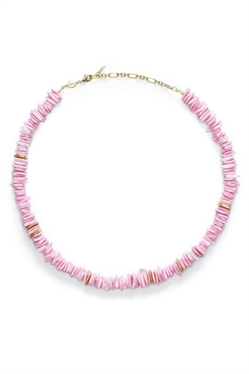ANNI LU, Pink Puka, Necklace